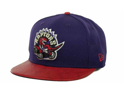 Toronto Raptors NBA Hardwood Classics Snake Thru 9FIFTY Strapback Hats