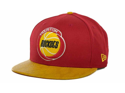 Houston Rockets NBA Hardwood Classics Snake Thru 9FIFTY Strapback Hats