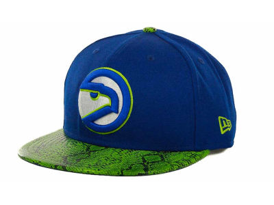 Atlanta Hawks NBA Hardwood Classics Snake Thru 9FIFTY Strapback Hats