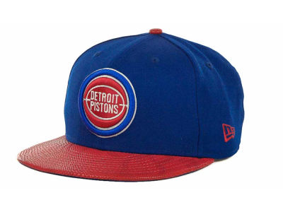 Detroit Pistons NBA Hardwood Classics Snake Thru 9FIFTY Strapback Hats
