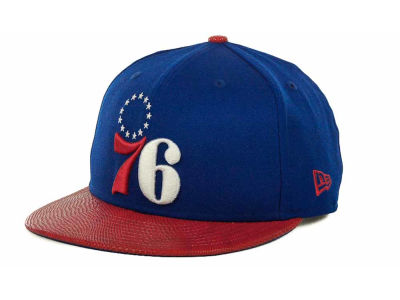 Philadelphia 76ers NBA Hardwood Classics Snake Thru 9FIFTY Strapback Hats