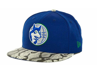 Minnesota Timberwolves NBA Hardwood Classics Snake Thru 9FIFTY Strapback Hats