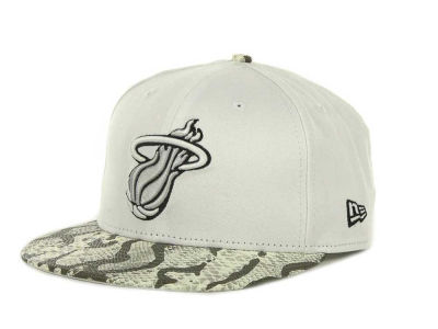 Miami Heat NBA Hardwood Classics Snake Thru 9FIFTY Strapback Hats