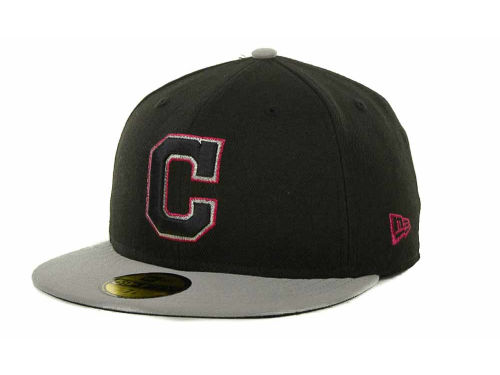 Cleveland Indians New Era MLB Exclusive Patch 59FIFTY Cap Hats