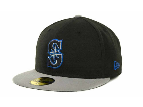 Seattle Mariners New Era MLB Exclusive Patch 59FIFTY Cap Hats