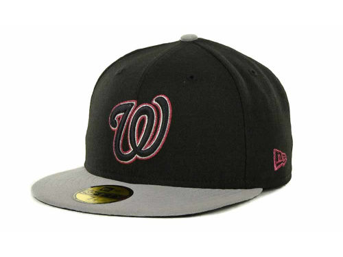 Washington Nationals New Era MLB Exclusive Patch 59FIFTY Cap Hats