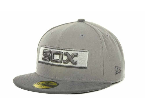 Chicago White Sox New Era MLB Exclusive Patch 59FIFTY Cap Hats