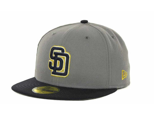 San Diego Padres New Era MLB Exclusive Patch 59FIFTY Cap Hats