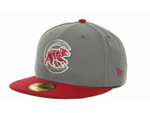 Chicago Cubs New Era MLB Exclusive Patch 59FIFTY Cap Hats