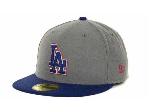 Los Angeles Dodgers New Era MLB Exclusive Patch 59FIFTY Cap Hats