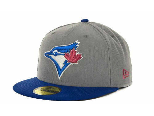 Toronto Blue Jays New Era MLB Exclusive Patch 59FIFTY Cap Hats