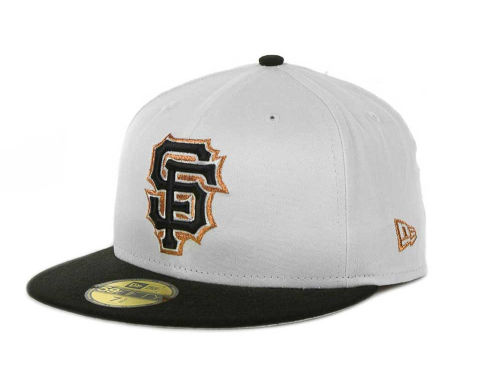 San Francisco Giants New Era MLB Exclusive Patch 59FIFTY Cap Hats