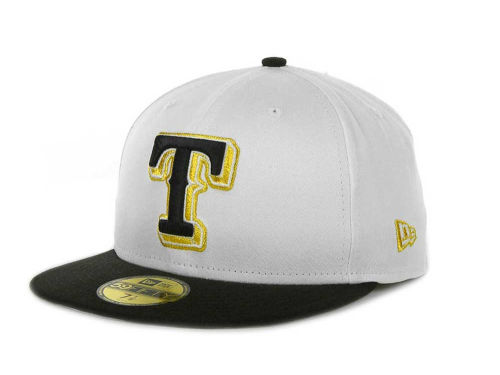 Texas Rangers New Era MLB Exclusive Patch 59FIFTY Cap Hats