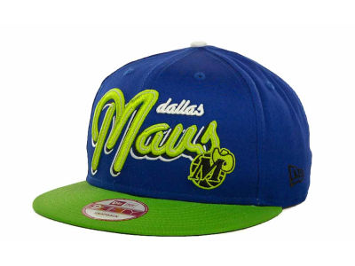Dallas Mavericks NBA Hardwood Classics Bright Nights 9FIFTY Caps Hats