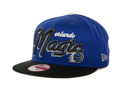 Orlando Magic NBA Hardwood Classics Bright Nights 9FIFTY Caps Hats