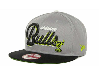 Chicago Bulls NBA Hardwood Classics Bright Nights 9FIFTY Caps Hats