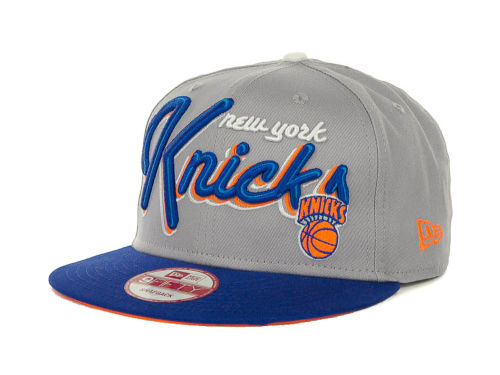 New York Knicks New Era NBA Hardwood Classics Bright Nights 9FIFTY Caps Hats
