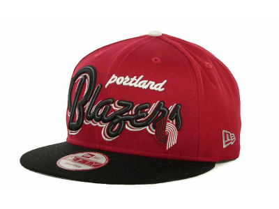 Portland Trail Blazers NBA Hardwood Classics Bright Nights 9FIFTY Caps Hats