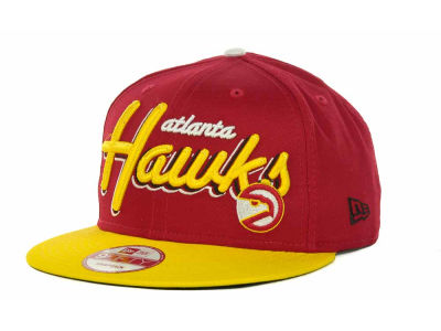 Atlanta Hawks NBA Hardwood Classics Bright Nights 9FIFTY Caps Hats
