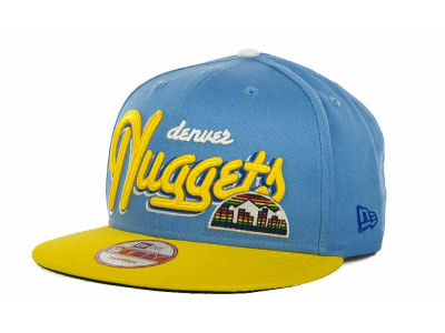 Denver Nuggets NBA Hardwood Classics Bright Nights 9FIFTY Caps Hats