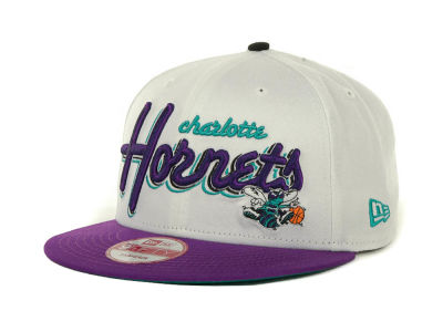 Charlotte Hornets NBA Hardwood Classics Bright Nights 9FIFTY Caps Hats
