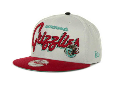 Vancouver Grizzlies NBA Hardwood Classics Bright Nights 9FIFTY Caps Hats