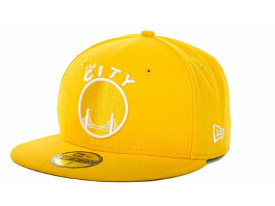 Golden State Warriors NBA Hardwood Classics League Basic 59FIFTY Cap Hats
