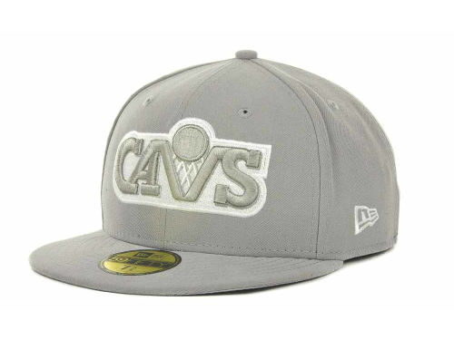 Cleveland Cavaliers New Era NBA Hardwood Classics League Basic 59FIFTY Cap Hats