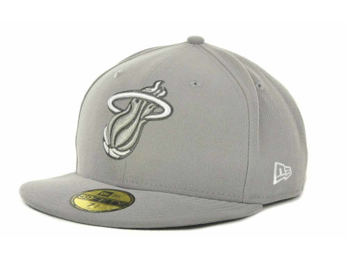 Miami Heat New Era NBA Hardwood Classics League Basic 59FIFTY Cap Hats