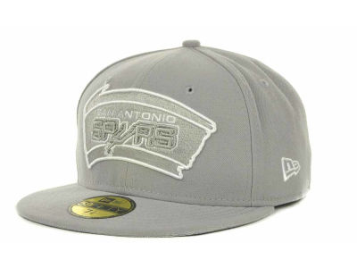 San Antonio Spurs NBA Hardwood Classics League Basic 59FIFTY Cap Hats