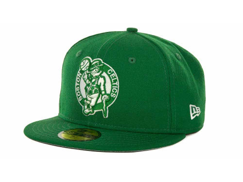 Boston Celtics New Era NBA Hardwood Classics League Basic 59FIFTY Cap Hats