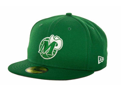 Dallas Mavericks NBA Hardwood Classics League Basic 59FIFTY Cap Hats