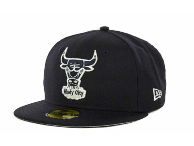 Chicago Bulls NBA Hardwood Classics League Basic 59FIFTY Cap Hats