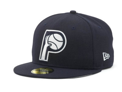 Indiana Pacers NBA Hardwood Classics League Basic 59FIFTY Cap Hats