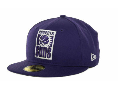 Phoenix Suns NBA Hardwood Classics League Basic 59FIFTY Cap Hats