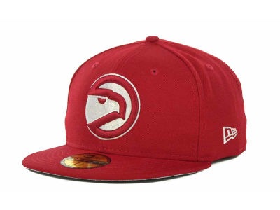 Atlanta Hawks NBA Hardwood Classics League Basic 59FIFTY Cap Hats