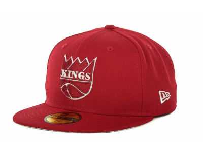 Sacramento Kings NBA Hardwood Classics League Basic 59FIFTY Cap Hats