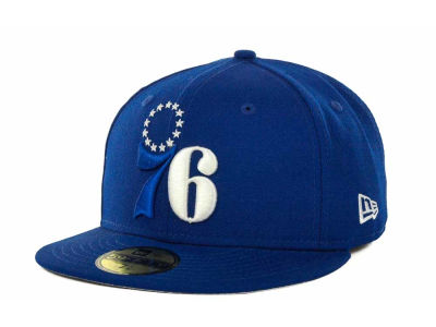 Philadelphia 76ers NBA Hardwood Classics League Basic 59FIFTY Cap Hats