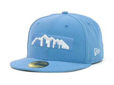 Denver Nuggets NBA Hardwood Classics League Basic 59FIFTY Cap Hats