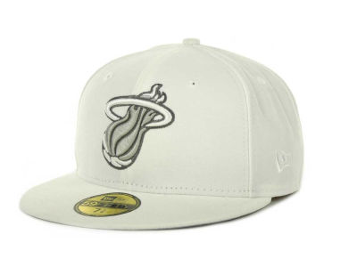 Miami Heat NBA Hardwood Classics League Basic 59FIFTY Cap Hats