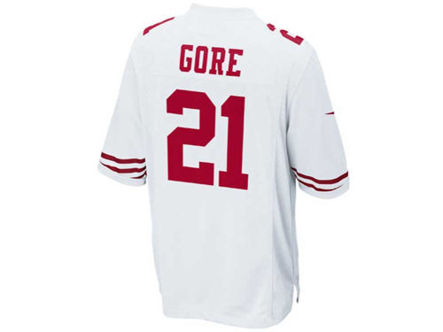 San Francisco 49ers Frank Gore Nike NFL Youth Game Jersey