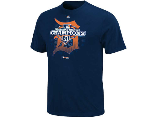Detroit Tigers Majestic MLB League Champ CH T-Shirt 2012