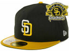 San Diego Padres New Era MLB Cooperstown Patch 59FIFTY Cap Fitted Hats
