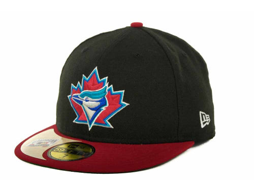 Toronto Blue Jays New Era MLB Cooperstown Patch 59FIFTY Cap Hats