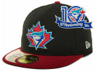 Toronto Blue Jays New Era MLB Cooperstown Patch 59FIFTY Cap Fitted Hats