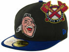 Atlanta Braves New Era MLB Cooperstown Patch 59FIFTY Cap Fitted Hats