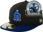 Seattle Mariners New Era MLB Cooperstown Patch 59FIFTY Cap Fitted Hats