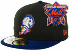 New York Mets New Era MLB Cooperstown Patch 59FIFTY Cap Fitted Hats