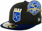 Kansas City Royals New Era MLB Cooperstown Patch 59FIFTY Cap Fitted Hats