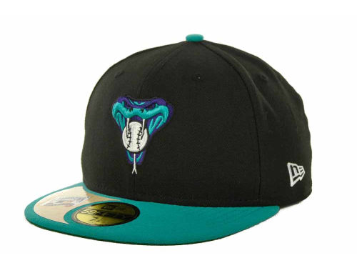 Arizona Diamondbacks New Era MLB Cooperstown Patch 59FIFTY Cap Hats